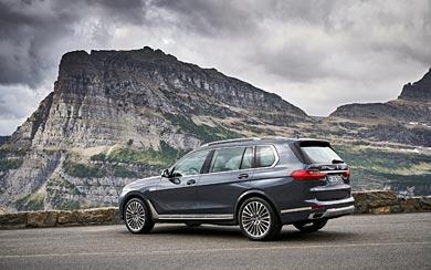 2019 BMW X7 wallpaper thumbnail.