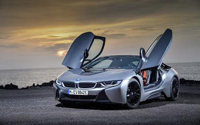 2019 BMW i8 wallpaper thumbnail.