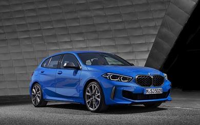 2020 BMW M135i wallpaper thumbnail.