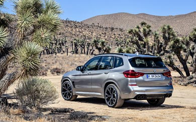 2020 BMW X3 M Competition wallpaper thumbnail.