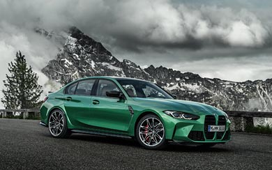 2021 BMW M3 Competition wallpaper thumbnail.