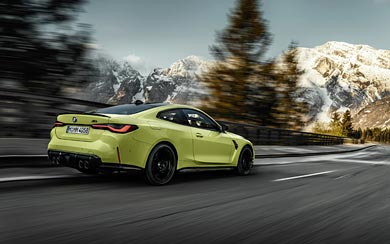 2021 BMW M4 Competition wallpaper thumbnail.