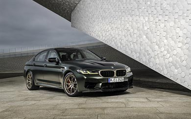 2022 BMW M5 CS wallpaper thumbnail.