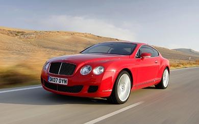 2007 Bentley Continental GT Speed wallpaper thumbnail.