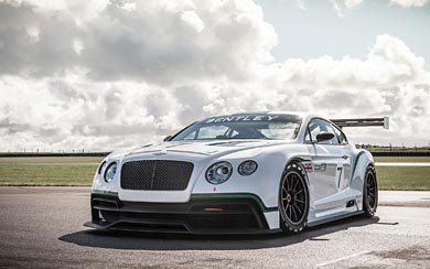 2012 Bentley Continental GT3 Concept wallpaper thumbnail.