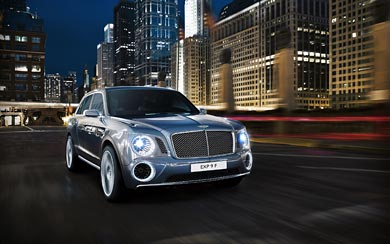 2012 Bentley EXP 9 F Concept wallpaper thumbnail.