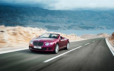 2013 Bentley Continental GT Speed Convertible wallpaper thumbnail.