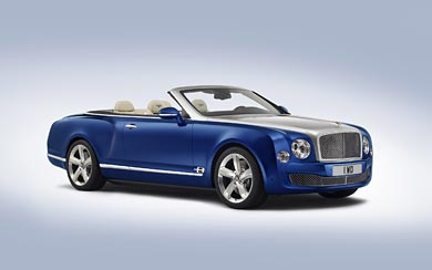 2014 Bentley Grand Convertible Concept wallpaper thumbnail.