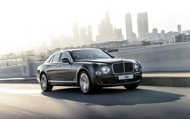 2015 Bentley Mulsanne Speed wallpaper thumbnail.