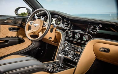 2015 Bentley Mulsanne Speed Speed wallpaper thumbnail.