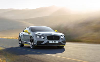 2017 Bentley Continental GT Speed Black Edition wallpaper thumbnail.
