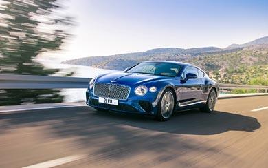 2018 Bentley Continental GT wallpaper thumbnail.