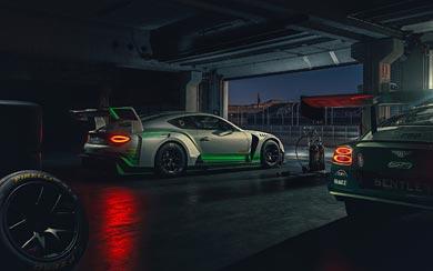 2018 Bentley Continental GT3 wallpaper thumbnail.