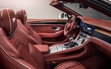 2019 Bentley Continental GT Convertible wallpaper thumbnail.