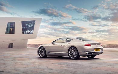 2020 Bentley Continental GT Mulliner wallpaper thumbnail.