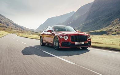 2021 Bentley Flying Spur V8 wallpaper thumbnail.