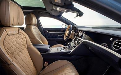 2022 Bentley Flying Spur Mulliner wallpaper thumbnail.