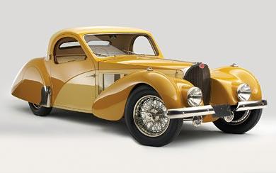 1936 Bugatti Type 57SC Atalante wallpaper thumbnail.