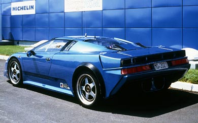 1990 Bugatti EB110 Prototype wallpaper thumbnail.