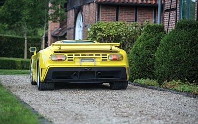 1993 Bugatti EB110 SuperSport wallpaper thumbnail.