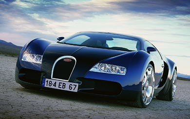 1999 Bugatti EB 18.4 Veyron Concept wallpaper thumbnail.