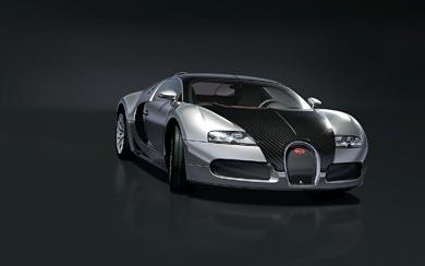 2008 Bugatti Veyron Pur Sang wallpaper thumbnail.