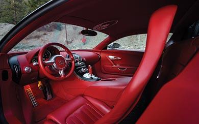 2008 Bugatti Veyron Sang Noir wallpaper thumbnail.