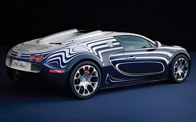 2011 Bugatti Veyron Grand Sport L'Or Blanc wallpaper thumbnail.
