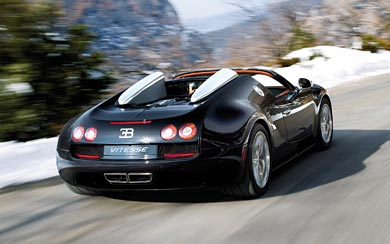 2012 Bugatti Veyron Grand Sport Vitesse wallpaper thumbnail.