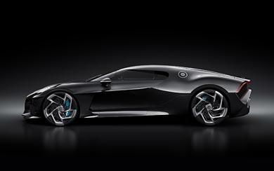 2019 Bugatti La Voiture Noire wallpaper thumbnail.