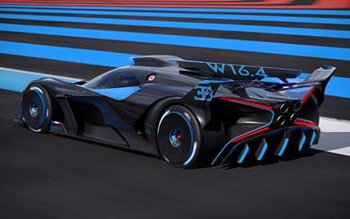 2020 Bugatti Bolide Concept wallpaper thumbnail.