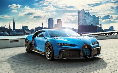 2021 Bugatti Chiron Pur Sport wallpaper thumbnail.