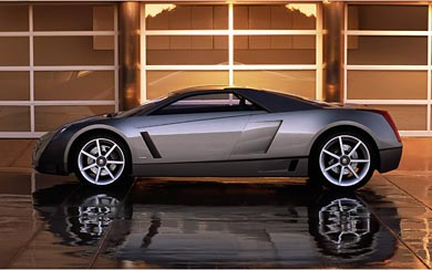 2002 Cadillac Cien Concept wallpaper thumbnail.