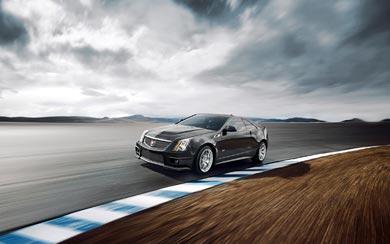 2011 Cadillac CTS-V Coupe wallpaper thumbnail.