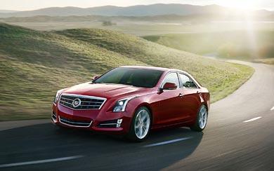 2013 Cadillac ATS wallpaper thumbnail.