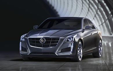 2014 Cadillac CTS wallpaper thumbnail.