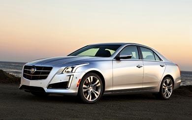 2014 Cadillac CTS Vsport wallpaper thumbnail.