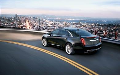 2015 Cadillac XTS wallpaper thumbnail.