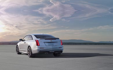 2016 Cadillac ATS-V Coupe wallpaper thumbnail.