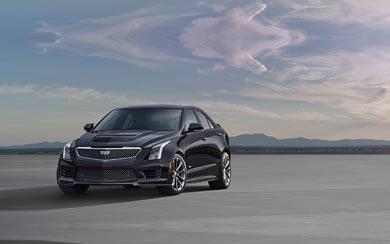 2016 Cadillac ATS-V Sedan wallpaper thumbnail.