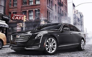 2016 Cadillac CT6 wallpaper thumbnail.