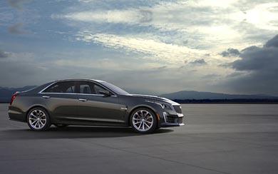 2016 Cadillac CTS-V Sedan wallpaper thumbnail.
