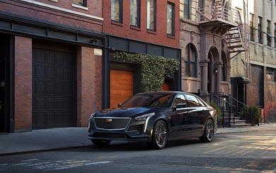 2019 Cadillac CT6 V-Sport wallpaper thumbnail.