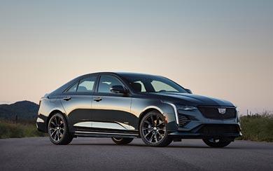 2020 Cadillac CT4-V wallpaper thumbnail.