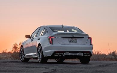 2020 Cadillac CT5-V wallpaper thumbnail.