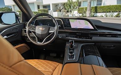 2021 Cadillac Escalade wallpaper thumbnail.
