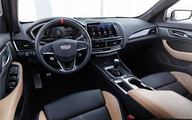 2022 Cadillac CT5-V Blackwing wallpaper thumbnail.