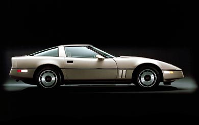 1984 Chevrolet Corvette Coupe wallpaper thumbnail.