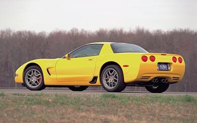 2001 Chevrolet Corvette Z06 wallpaper thumbnail.