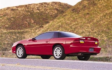 2002 Chevrolet Camaro SS wallpaper thumbnail.